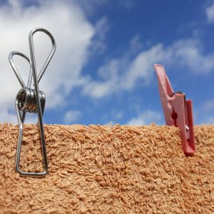 Best Pegs stainless steel peg on clothesline with broken peg